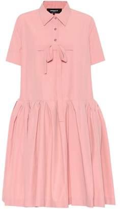 Rochas Cotton-blend dress
