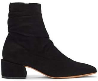 Dune Mari Giudicelli Women's Suede Ankle Boots - Black