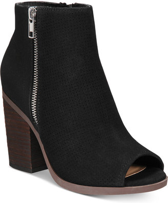 Call It Spring Metaponto Peep-Toe Booties Women's Shoes $59.50 thestylecure.com