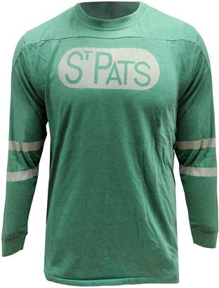 Red Jacket Toronto St. Patrick's NHL Vintage Thompson Cotton Long-Sleeve Tee