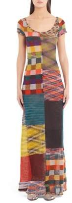 Missoni Stretch Wool Maxi Dress