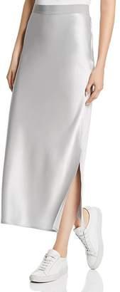 Theory Satin Column Skirt