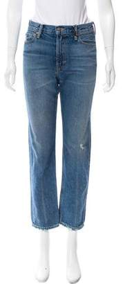 Vince Mid-Rise Distressed Jeans w/ Tags