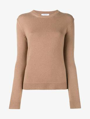 Valentino Camel cashmere round neck sweater