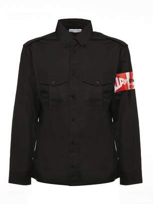 Gosha Rubchinskiy Sleeve Print Shirt