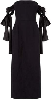 Mother of Pearl Matilda Bow Sleeve Midi Dress