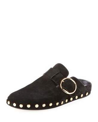 Isabel Marant Mirvin Studded Suede Mule Flat