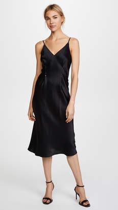 Alexander Wang Silk Rivet Cami Dress