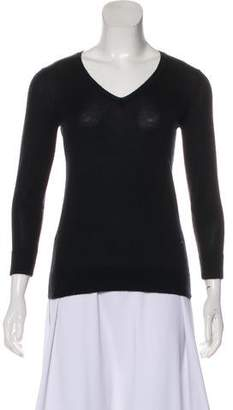 Celine V-Neck Knit Sweater