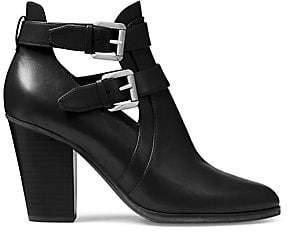 MICHAEL Michael Kors Women's Walden Block Heel Booties