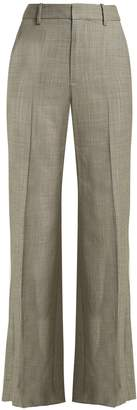 Nili Lotan Sullivan straight-leg wool trousers