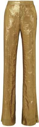 Derek Lam 10 Crosby Lame Wide Leg Trousers