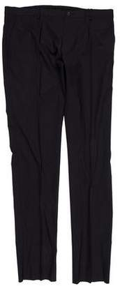 Dolce & Gabbana Virgin Wool Straight-Leg Pants w/ Tags