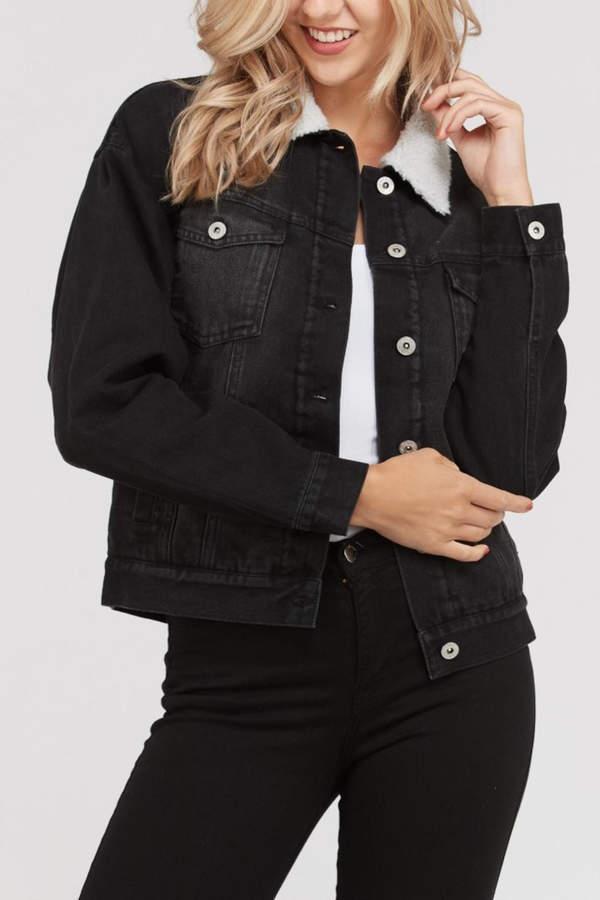 Denim Wool Jacket