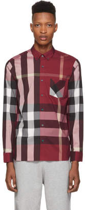Burberry Red Check Thornaby Shirt