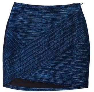 IRO Metallic Mini Skirt w/ Tags