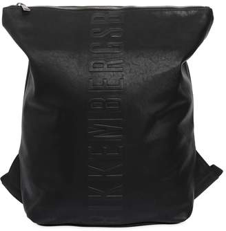 Bikkembergs Army Faux Leather Backpack Sac