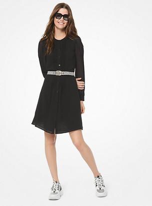 Michael Kors Georgette Shirtdress