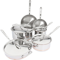 All-Clad Copper-Core 10 Piece Cookware Set