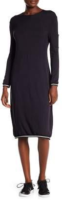 Couture Go Modest Mini Pocket on Sleeve Dress