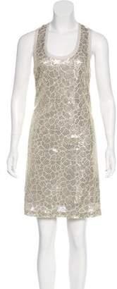 Ali Ro Sleeveless Embellished Dress