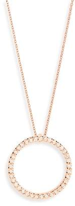 Roberto Coin Diamond Circle Pendant Necklace