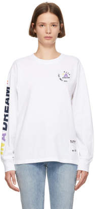 Sjyp White In A Dream Long Sleeve T-Shirt