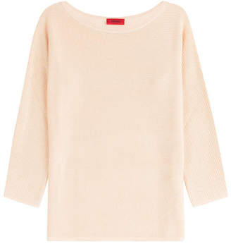 HUGO Pullover with Silk, Cotton and Cashmere