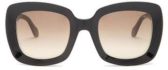 Roberto Cavalli 53mm Oversized Square Embellished Sunglasses