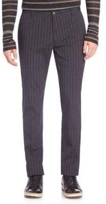 John Varvatos Motor City Slim-Fit Pinstripe Pants