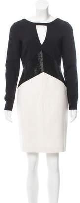 Emilio Pucci Wool Embellished Dress w/ Tags
