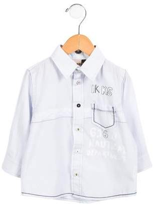 Ikks Boys' Striped Button-Up Shirt