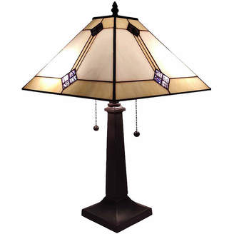 Tiffany & Co. AMORA Amora Lighting AM098TL13 Style Mission Design Table Lamp 21 In