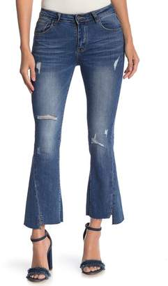 Gracia RIpped Bell Denim Jeans