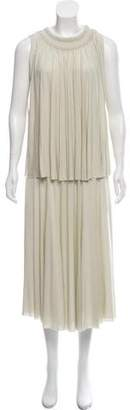 Chloé Sleeveless Midi Dress