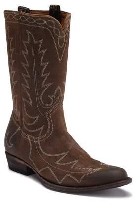 Frye Austin Feather Leather Pull-On Boot