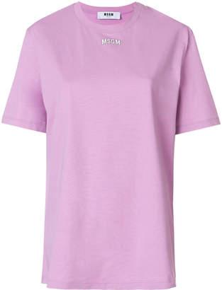 MSGM relaxed logo print T-shirt