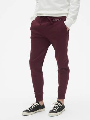 Gap Vintage Soft Stencil Logo Fleece Joggers