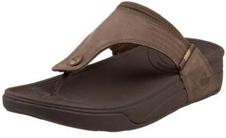 FitFlop Men's DASS Tm Flip Flop Brown Size: