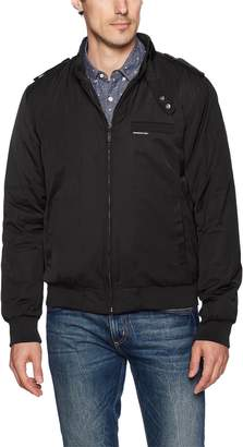 Members Only Men's Filled Iconic Racer Jacket