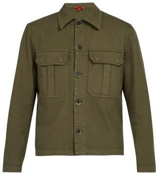 Barena Venezia - Baldo Cotton Blend Overshirt - Mens - Green