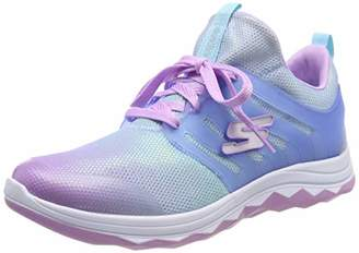 Skechers Girls' Diamond Runner Trainers,12 (30 EU)