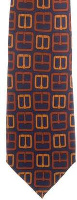 Gucci Silk Patterned Tie