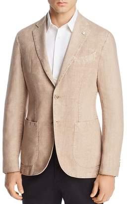 L.B.M Garment-Dyed Linen Slim Fit Sport Coat