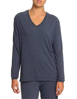 Papinelle Modal Relax V Neck Top