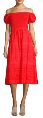 Tanya Taylor Zanna Striped Dress