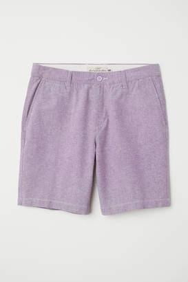 H&M Chino Shorts - Purple