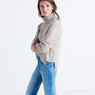 Raglan Turtleneck Sweater $85 thestylecure.com