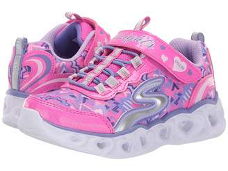 Skechers Heart 20180L lights (Little Kid/Big Kid)