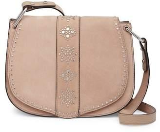 Rebecca Minkoff Stargazing Nubuck Leather Saddle Crossbody Bag